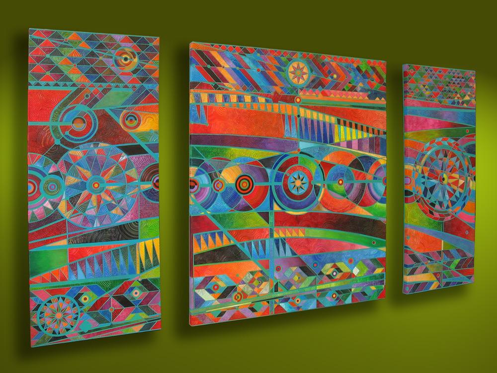 Guatemalan Geometric Composition
